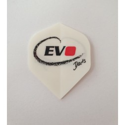Dart Flight Evo Darts weiß
